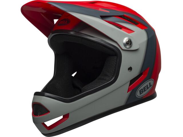 Bell Sanction Helmet presences matte crimson/slate/dark gray